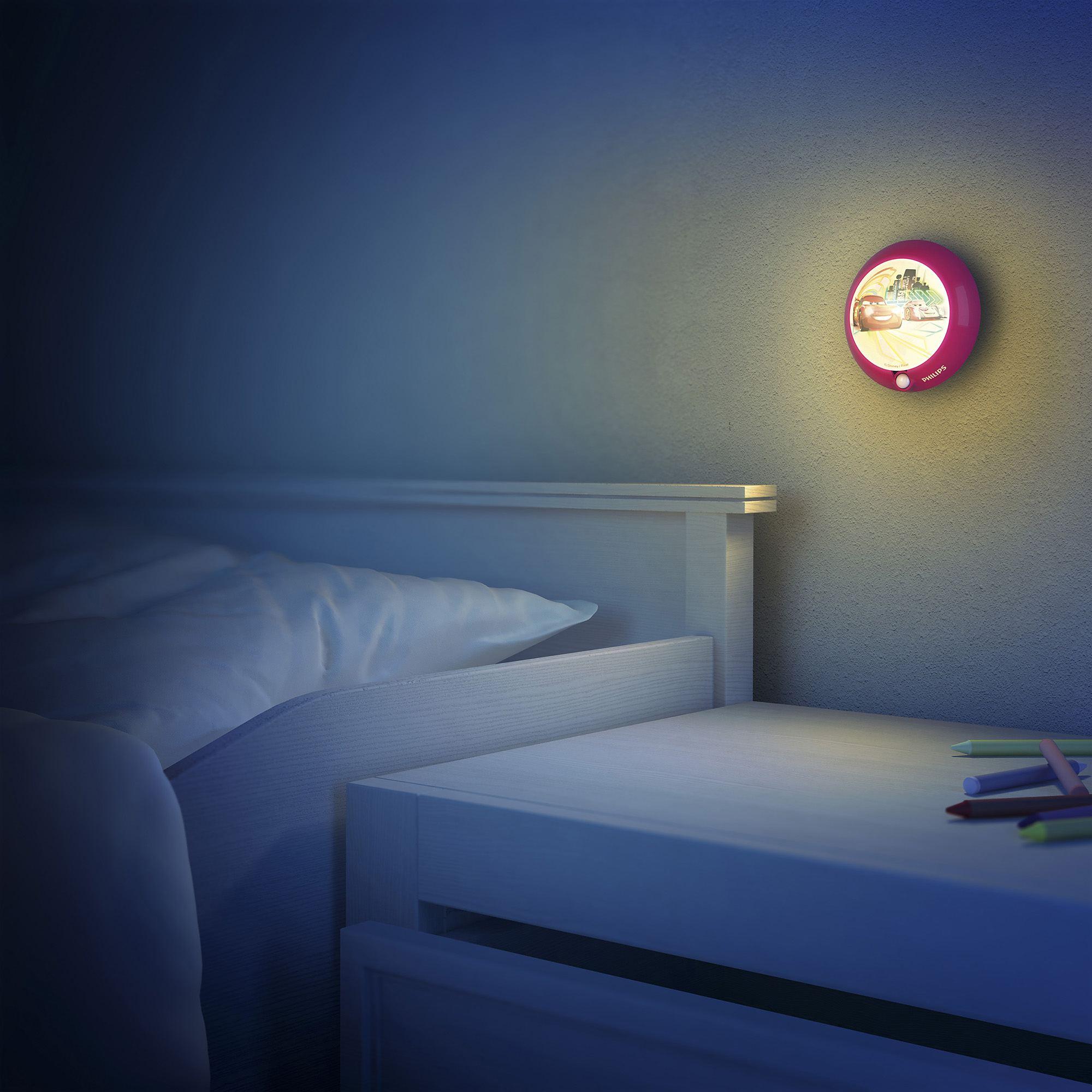 Philips Disney Cars Children S Led Sensor Night Light