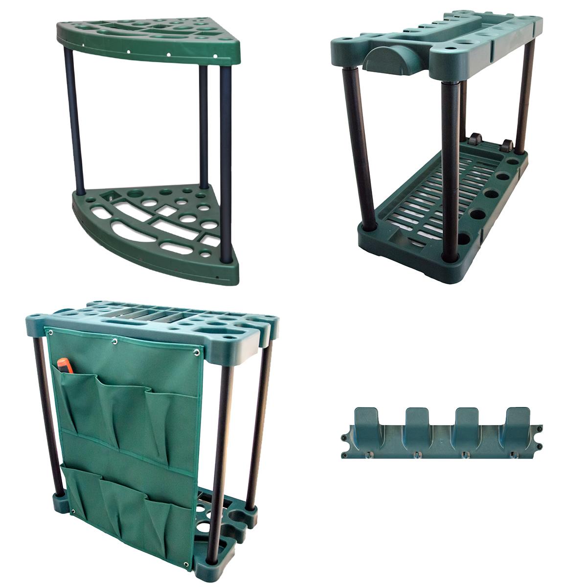 Garden Tool Trolley Rack Organiser Gardening Storage