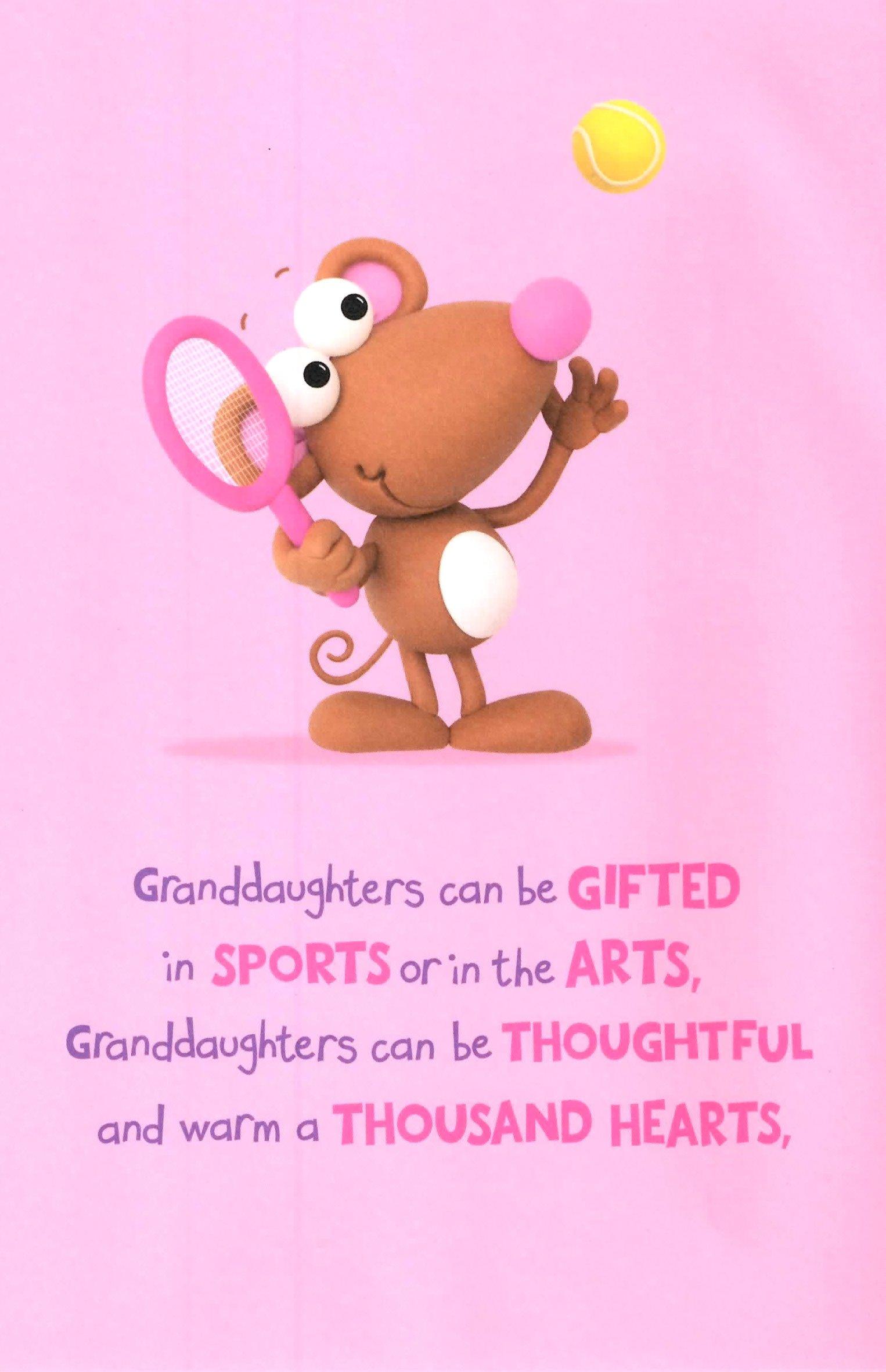 Cute Wonderful Granddaughter Birthday Greeting Card Crackers Range Cards NEW EBay