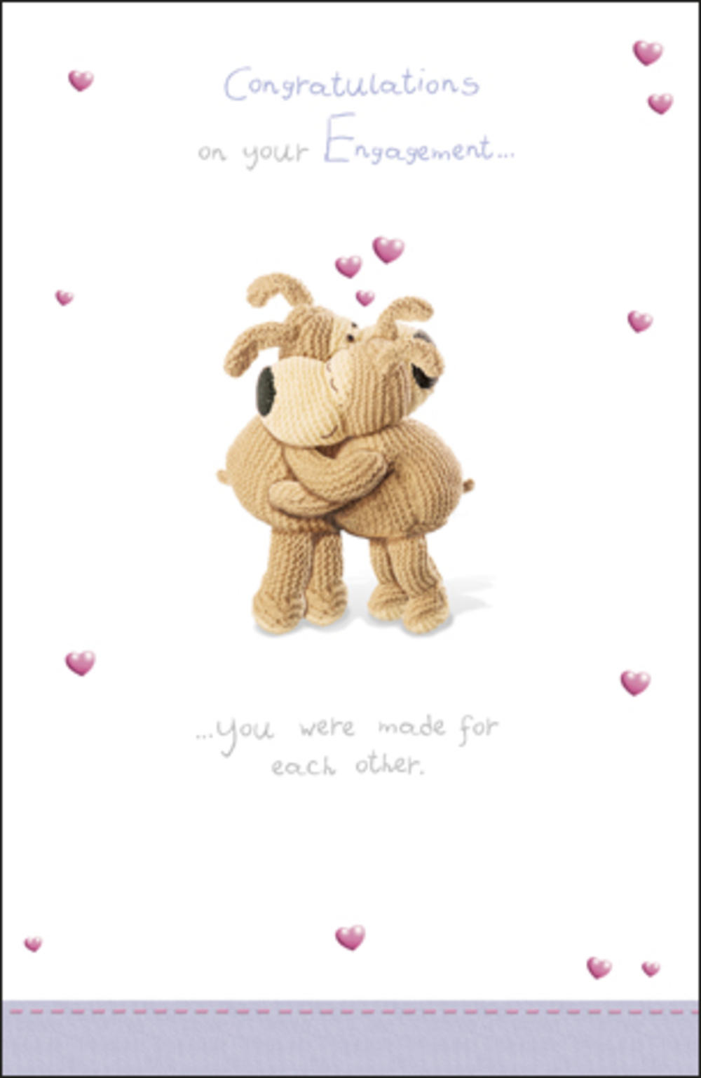 Boofle Congratulations Engagement Card Cards Love Kates