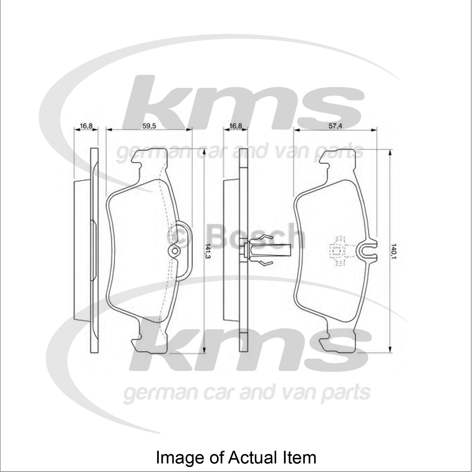 Brake Pad Set For Disc Brake Mercedes Cls C219 Cls 350 Cgi 219 357 Coupe 292
