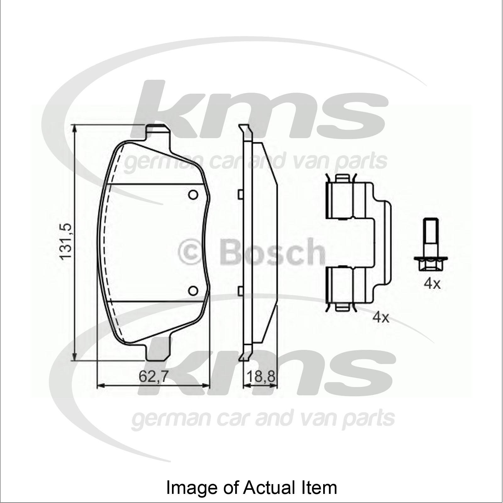 Brake Pad Set For Disc Brake Vw Polo 9n 1 9 Tdi