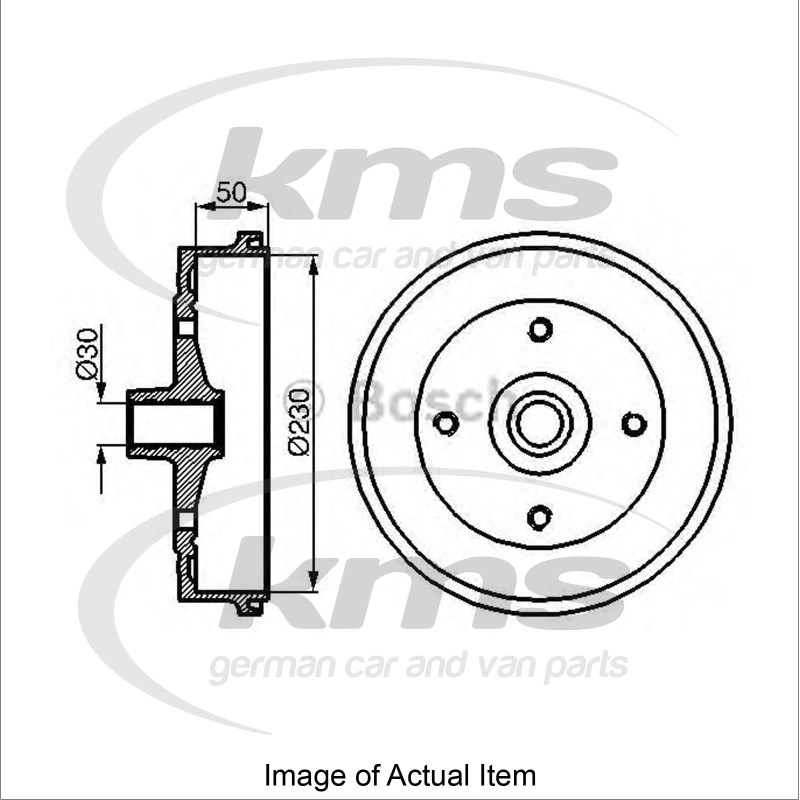 Brake Drum Vw Beetle 1 3 13 Special Design 44 Bhp