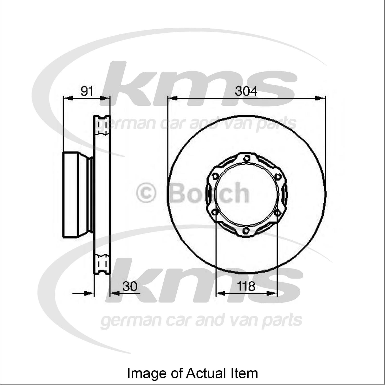 Brake Disc Mercedes Vario Platform Chassis 815 D 816 D 670 321 670 322 670 3
