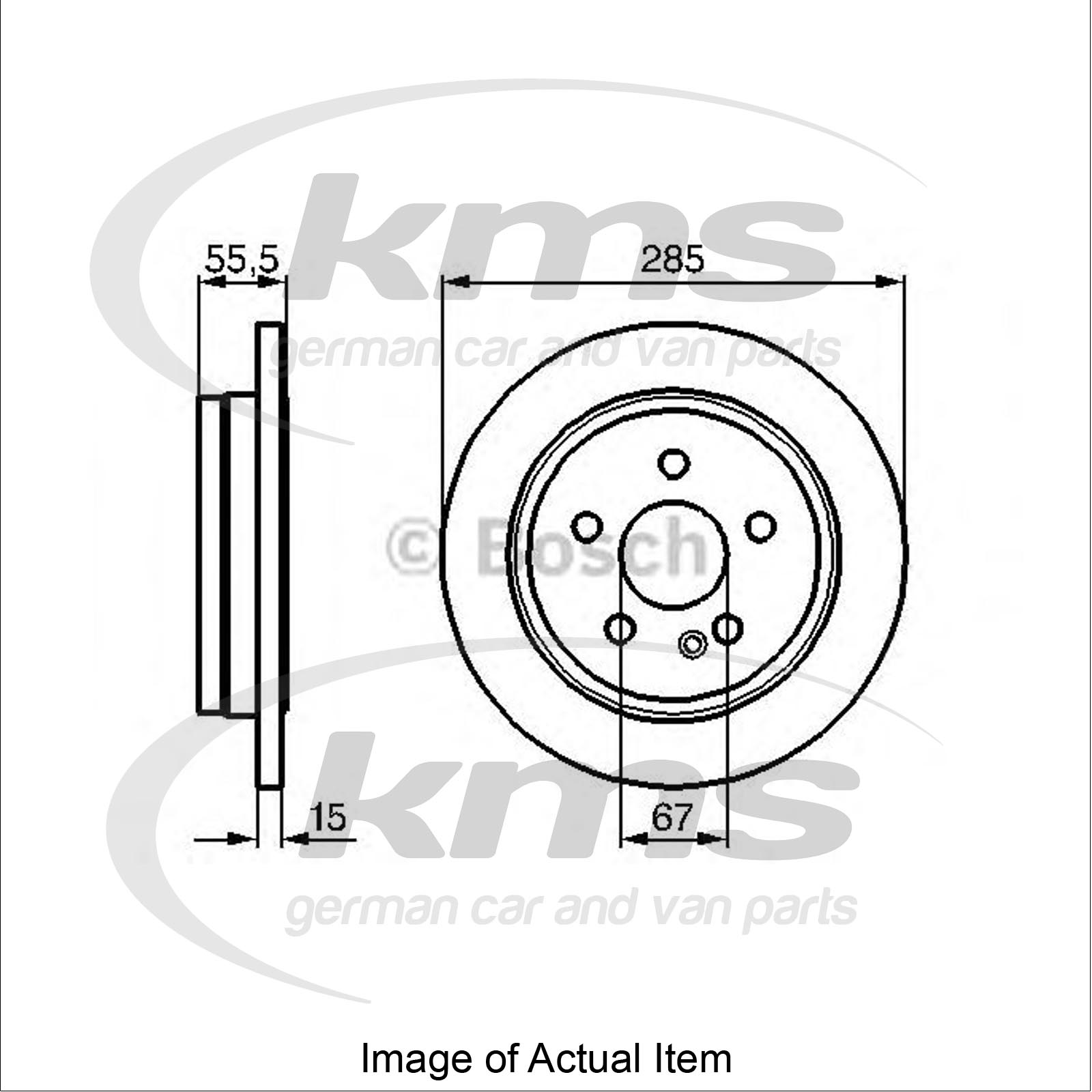 Brake Disc Mercedes M Class W163 Ml 270 Cdi 163 113 Closed Off Road Vehicle