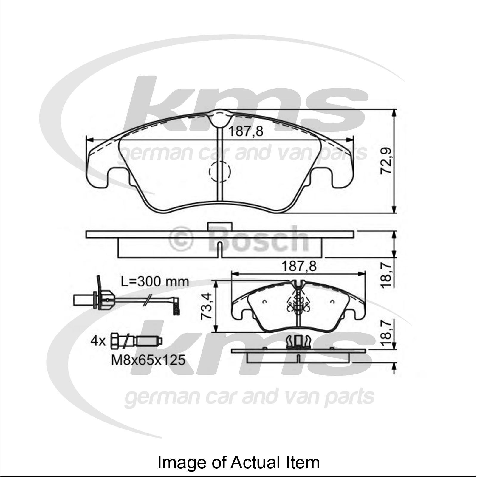 Brake Pad Set For Disc Brake Audi A6 4g2 C7 3 0 Tdi