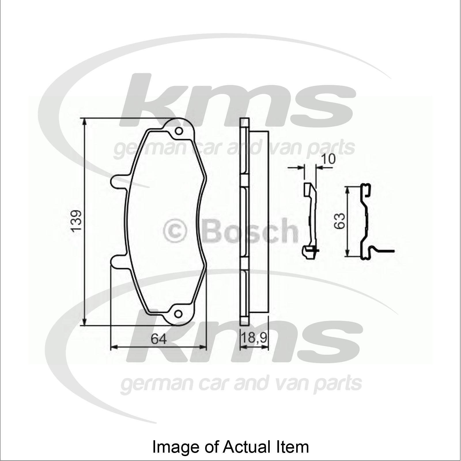 Brake Pad Set For Disc Brake Vw Passat Alltrack 365 2 0 Tsi 4motion Estate 210