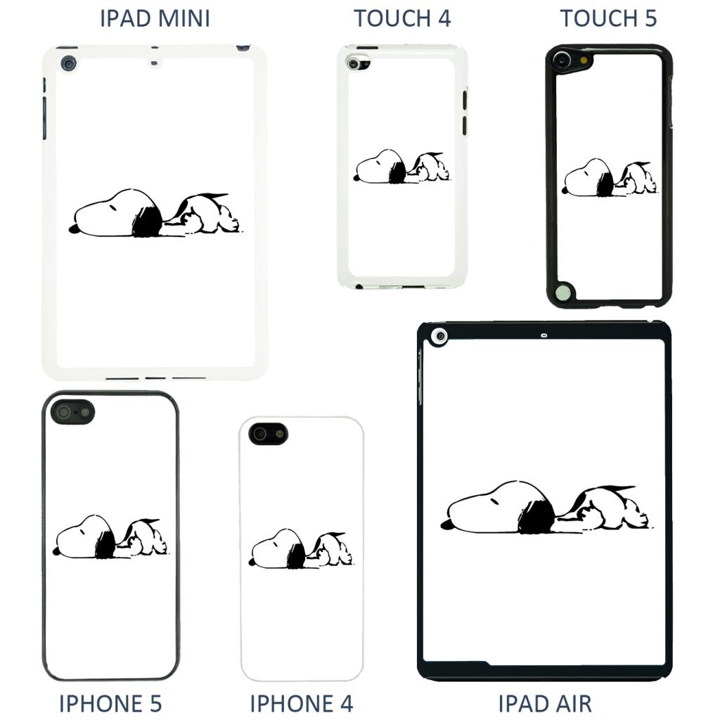 Snoopy Cartoon Cover Case For Apple Iphone Ipod Amp Ipad