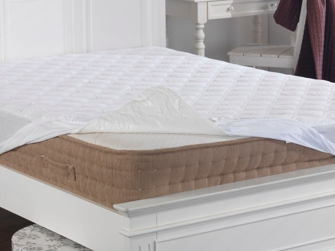 Deep Quilted Terry Towelling Mattress Protector Thumbnail 3