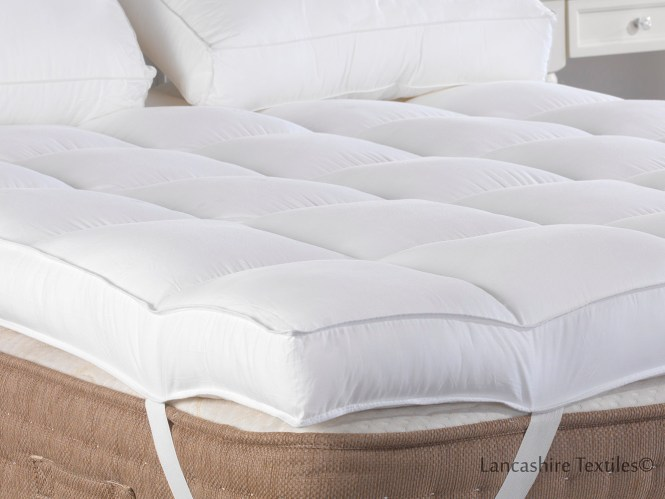 Slight Seconds Hotel Quality 4 Inch Thick Extra Deep Mattress Enhancer Reviver Topper Thumbnail 2