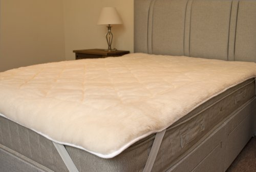 Pure Australian Wool Ultimate Fleece Reversible Mattress Topper King