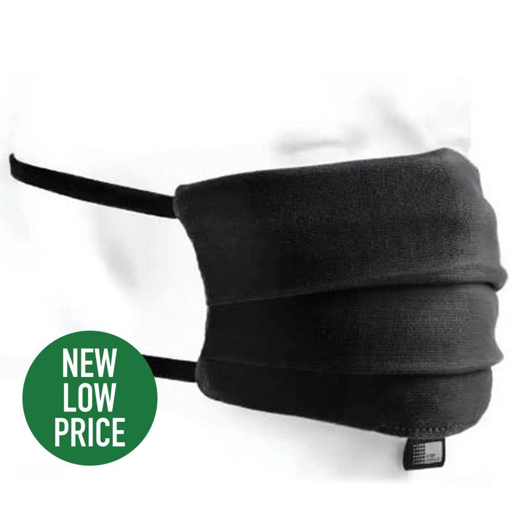 Cotton Face Mask Reuseable  – Single [MASK01BLACK]