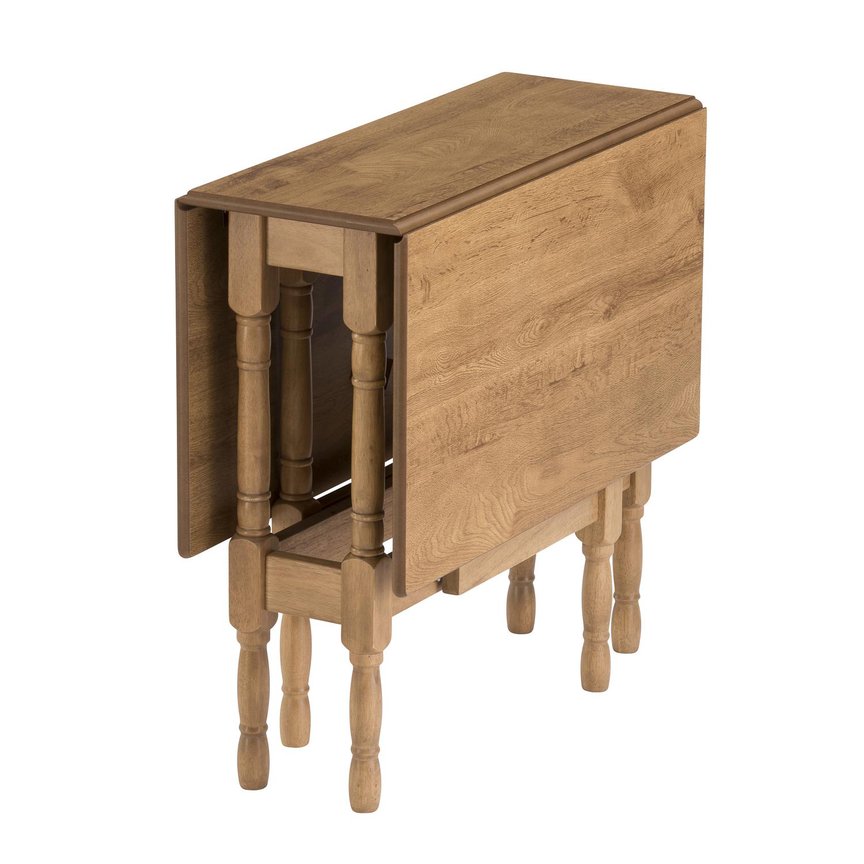 Drop Leaf Table Heatproof Folding Dining Kitchen Gateleg