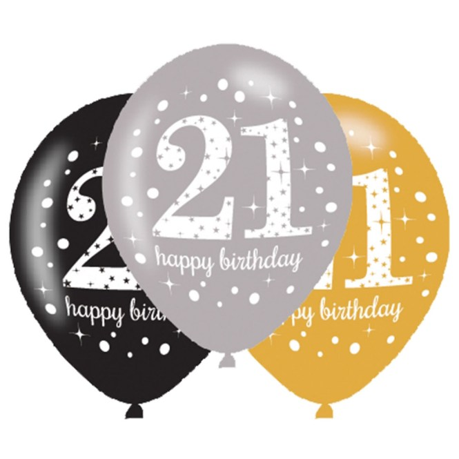 21st Birthday Decorations Black And Gold Image Inspiration Of