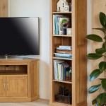 Details About Baumhaus Mobel Oak Tall Narrow Bookcase Mobel Oak Collection Solid Oak