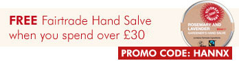 Free Fairtrade Hand salve