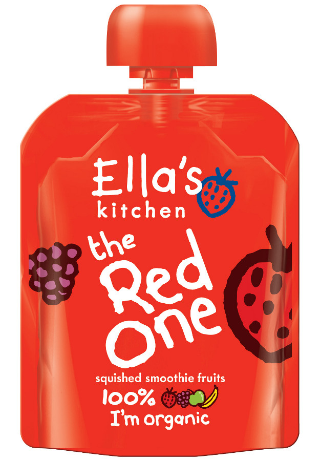 Ella Kitchen Red One Smoothie Fruit 90g
