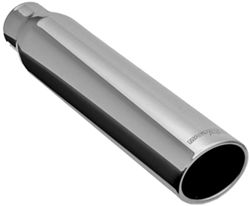 magnaflow 4 exhaust tip stainless weld on for 2 1 2 tailpipe