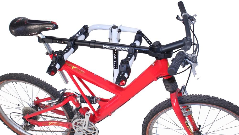 hollywood racks bike frame adapter bar