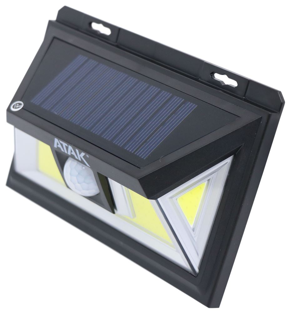 Atak Solar Motion Light Weatherproof 460 Lumens Performance Tool Rv Lighting Pt701