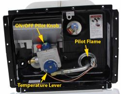 pilot light in atwood water heater