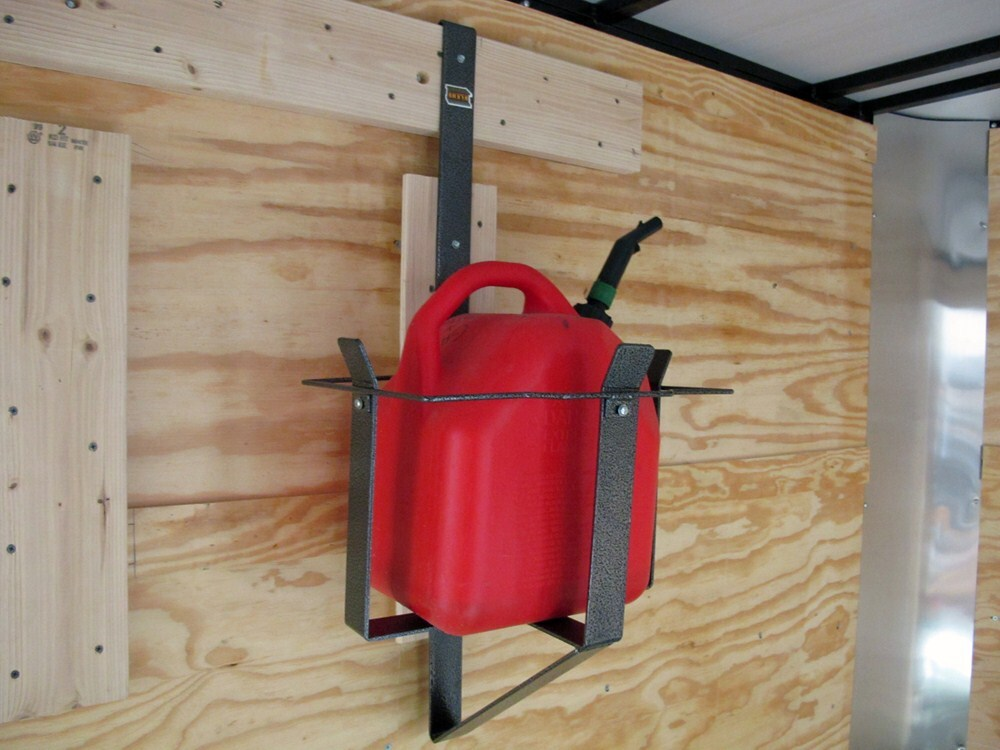 rack em 5 gallon gas can rack for