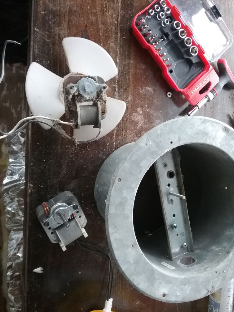 replacement 110 volt ac fan motor for