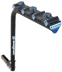 swagman original 4 bike rack for 2 trailer hitches