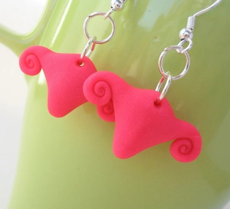 Uteri in the sky earrings - Yes they are uterus earrings