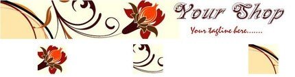 Pre-made Fanc Foilage Banner and 3 Avatars for Your Shop