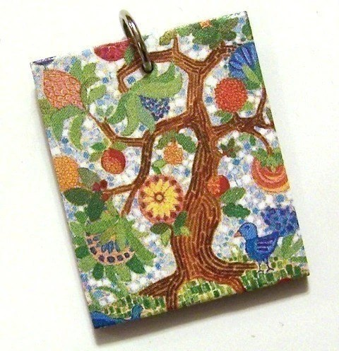 Palampore Tree Pendant - Featuring the work of Andrew Daniel