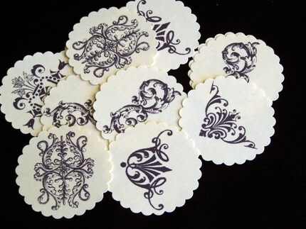 SIMPLY Fabulous Collection VICTORIAN Tags for scrapbooking/card/ACEO/ATC  making embellishments