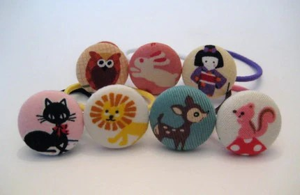 My Little Friends - Seven Days of Fun - Adorable and Fun Ponytail Holders for Little Girls
