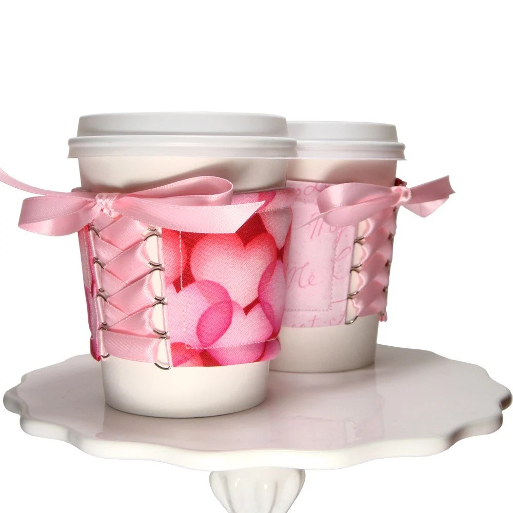 Sweet Heart Cup Cozy