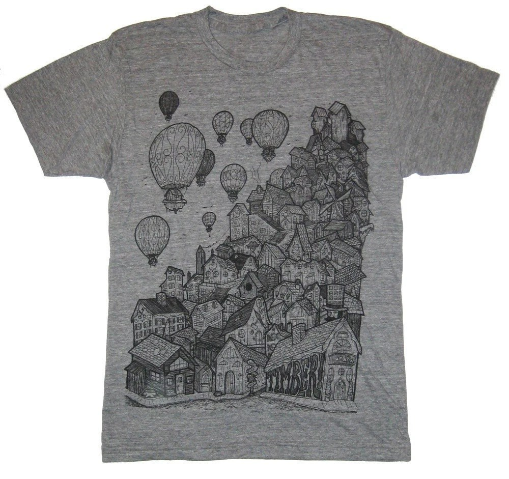 village on athletic grey small