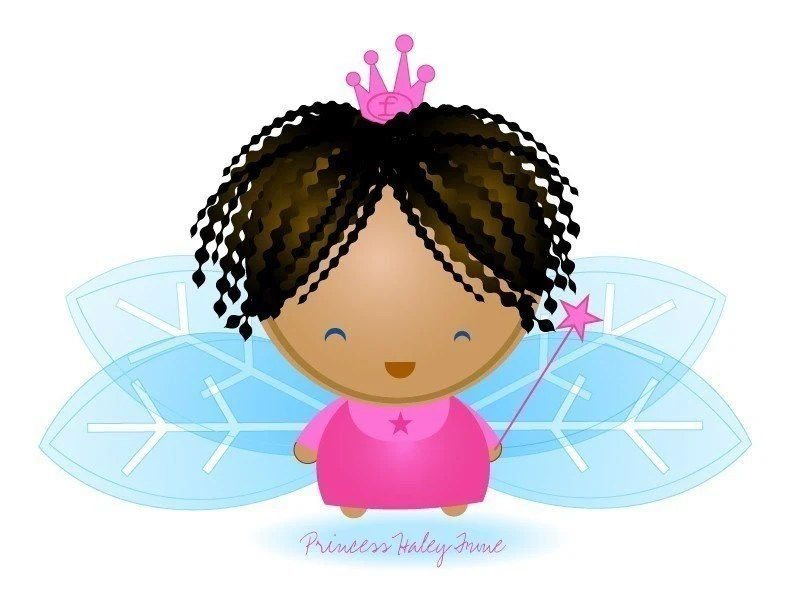 Customizable Fairy Princess Print