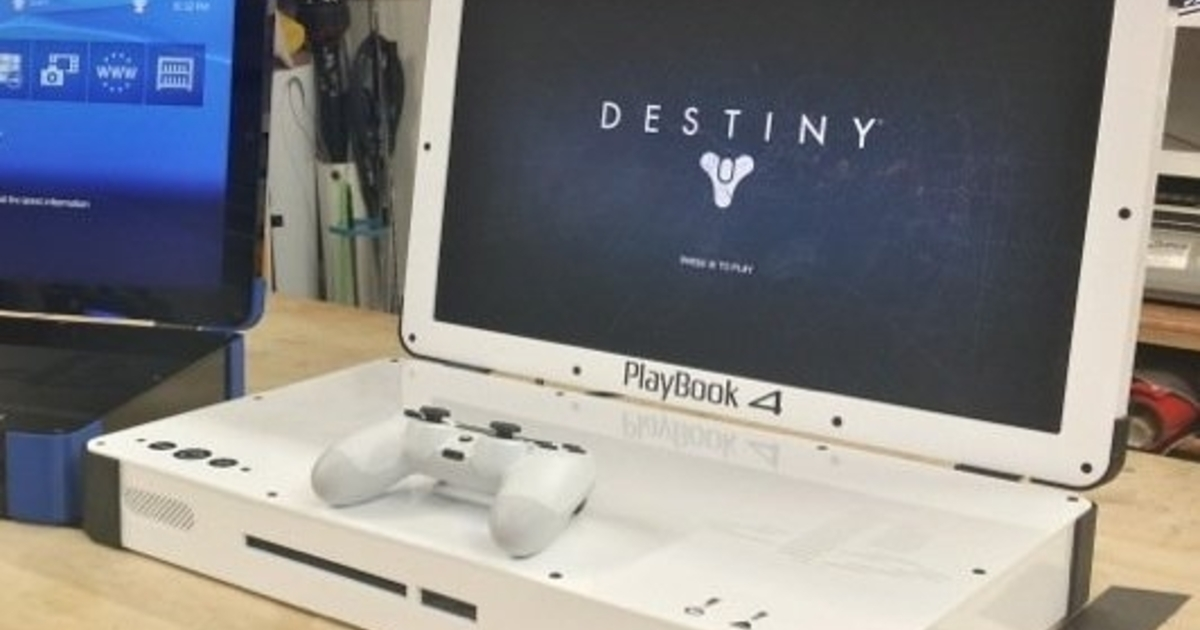 The PlayBook 4 Is A 1400 PlayStation 4 Laptop