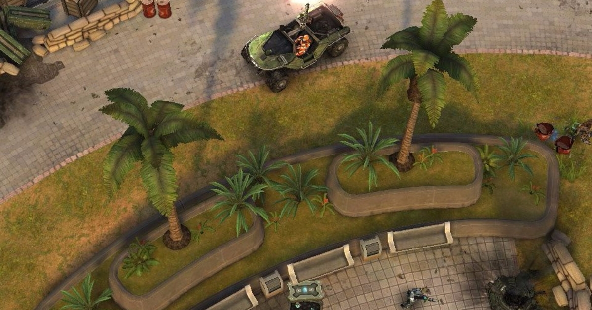 Top Down Shooter Halo Spartan Strike Hits Steam IPhone