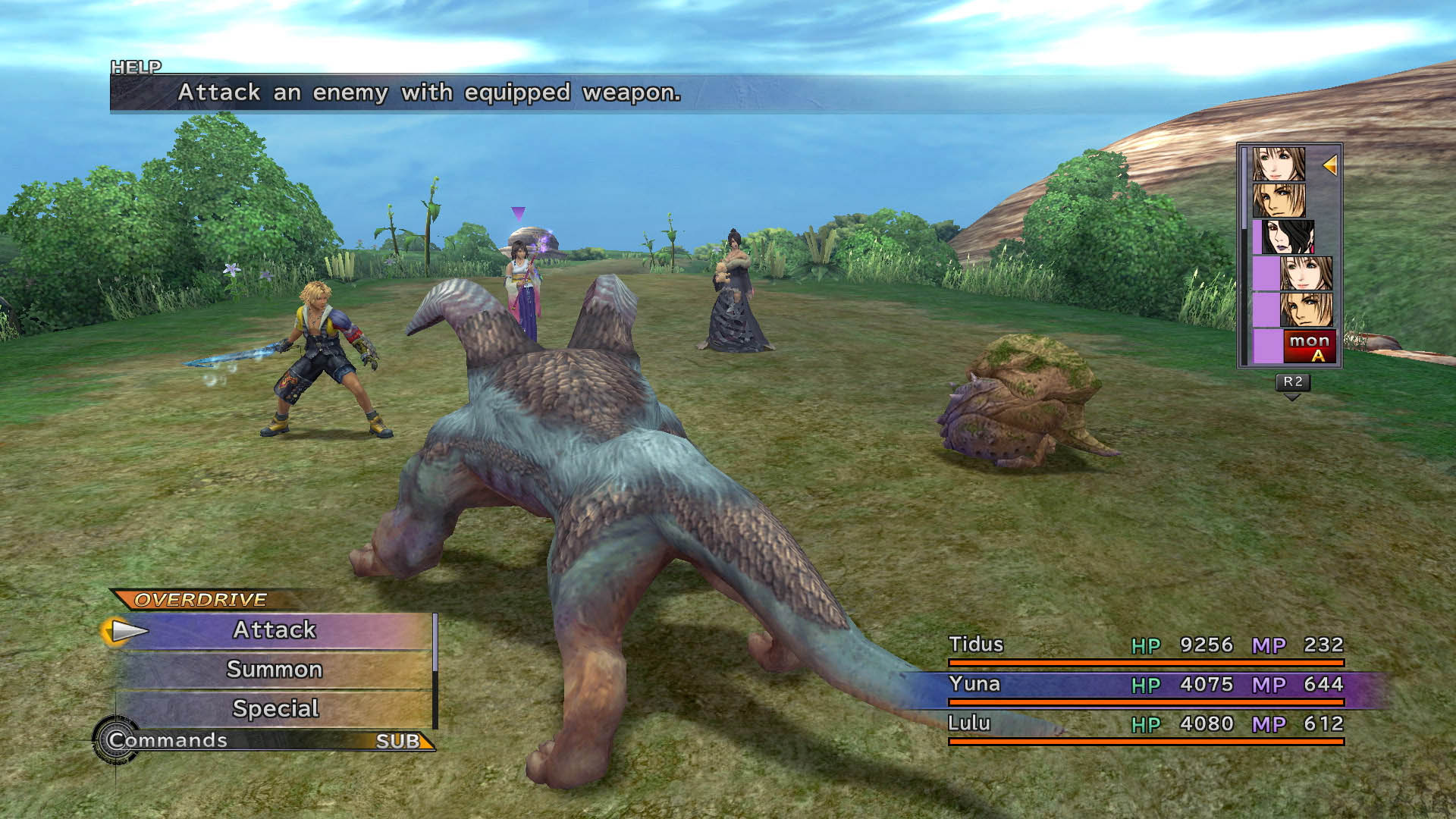 Image result for ffx gameplay