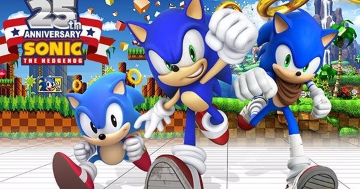 Sonic The Hedgehog Turns 25 Today