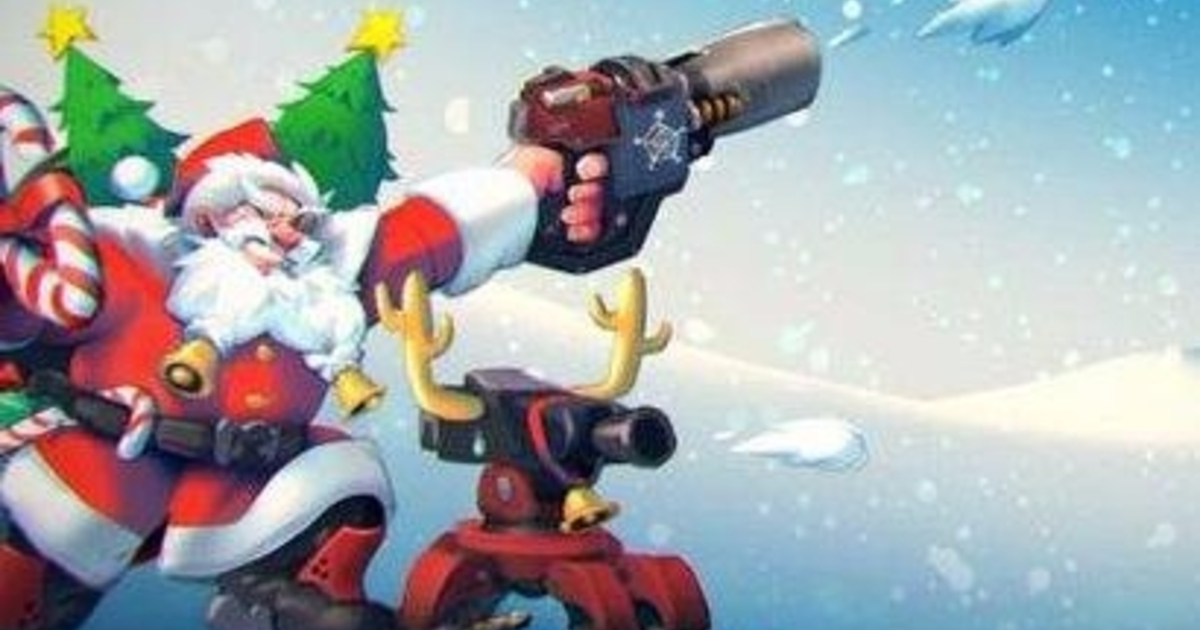 Overwatch Christmas Theme Tune Found Sets Tongues Wagging