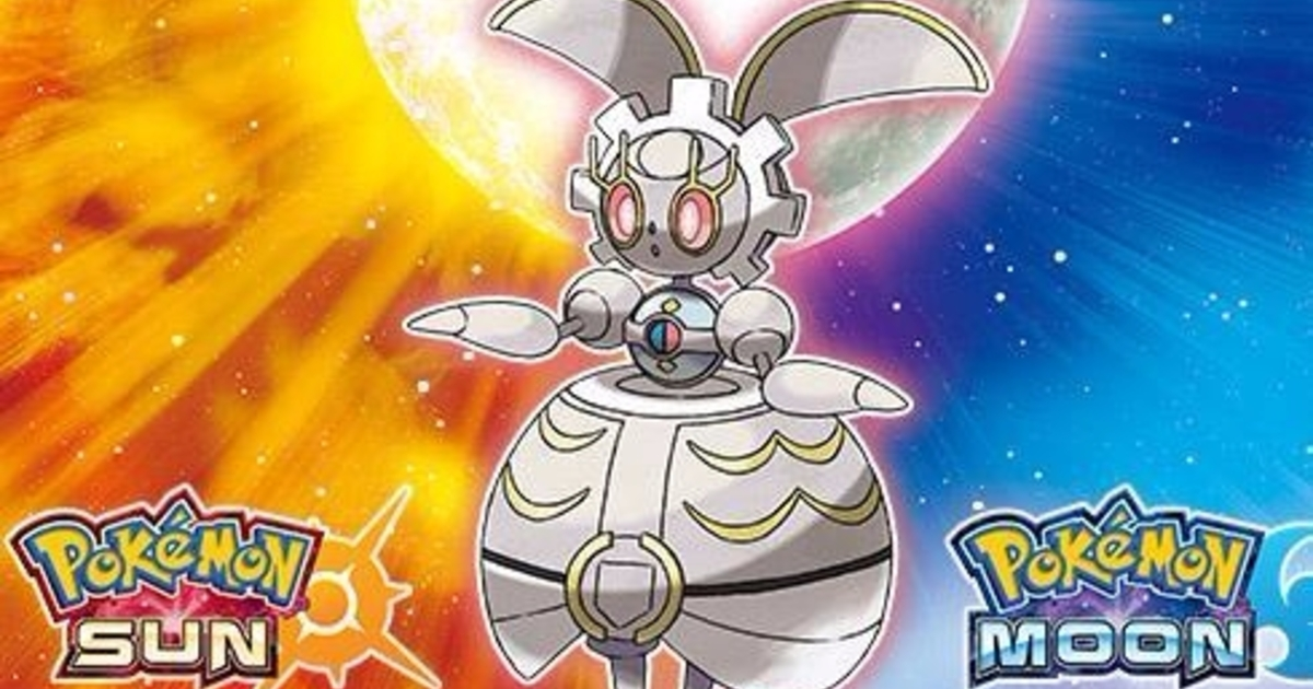 Pokmon Sun And Moon Magearna QR Code Event Details And