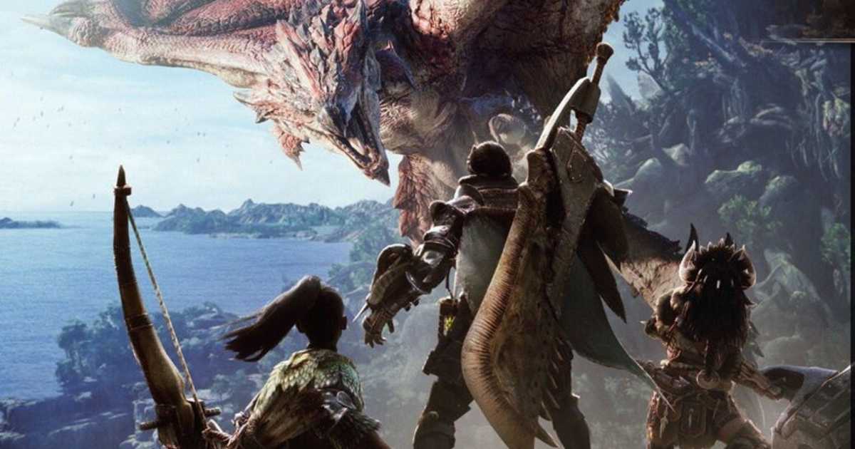 Theres A Second Monster Hunter World PS4 Beta This Week