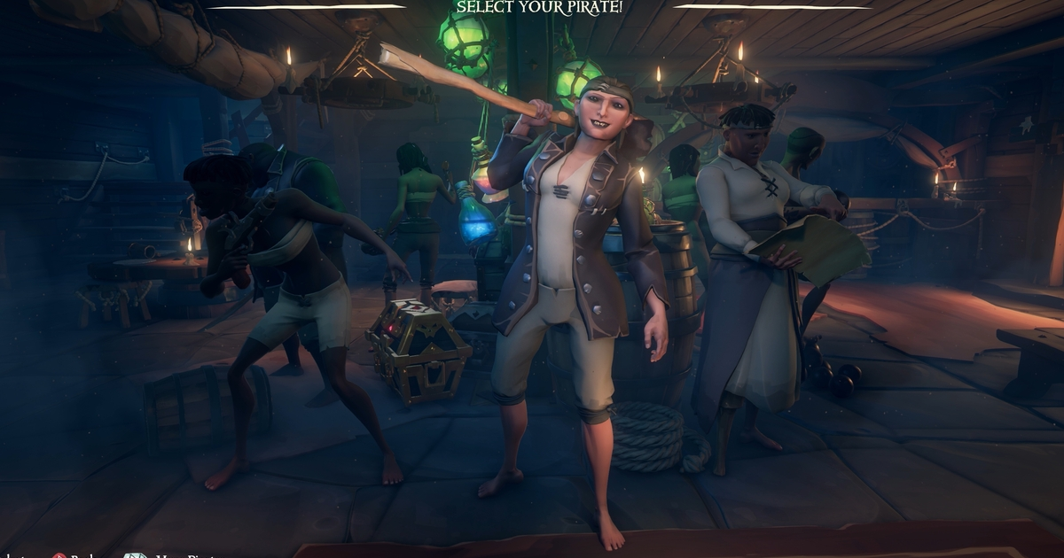 Image result for sea of thieves character customization