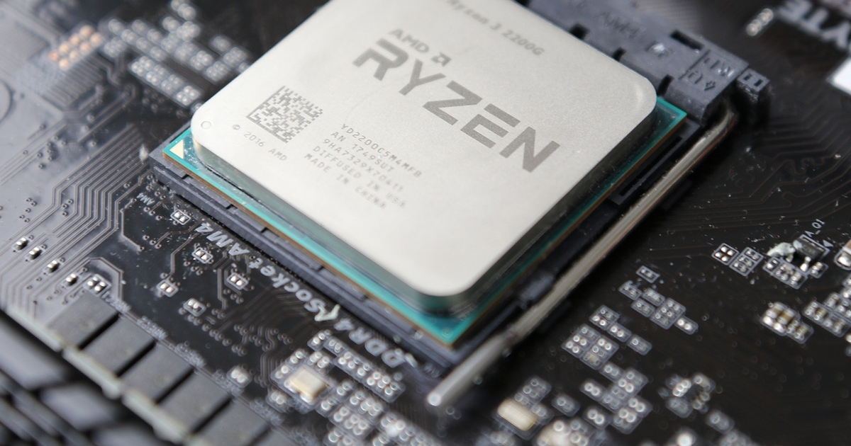 Ryzen 3 2200G Ryzen 5 2400G Review Triple A Gaming Without A Graphics Card