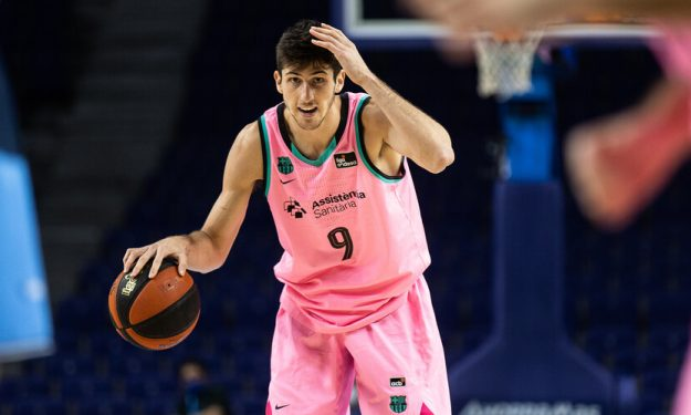 Leandro Bolmaro doesn't rule out staying with Barcelona | Eurohoops