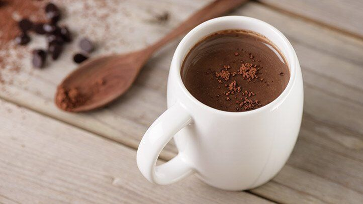 hot cocoa, which is good for people with depression