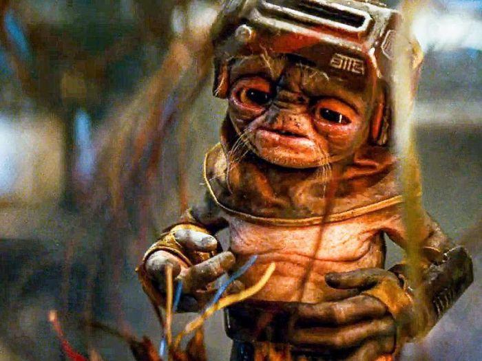 Star Wars: L'Ascesa di Skywalker, la genesi di Babu Frik raccontata da Neal Scanlan