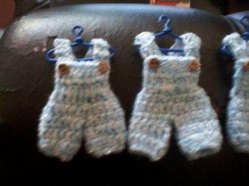Encintados Para Baby Shower Nina.Recuerdos Para Baby Shower Tejidos A Crochet Free Printable