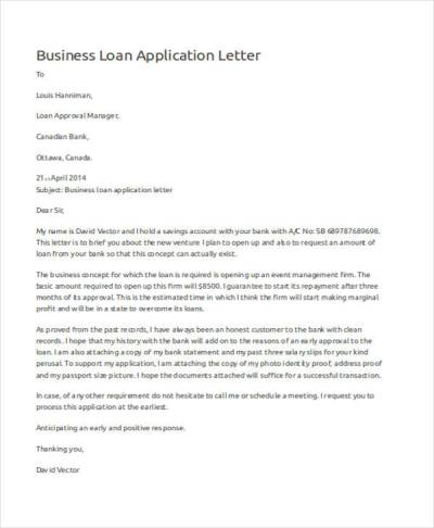 52+ Application Letter Examples & Samples - PDF, DOC ...